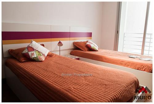 pocitos alquiler apartamento 3 dormitorios  + servicio