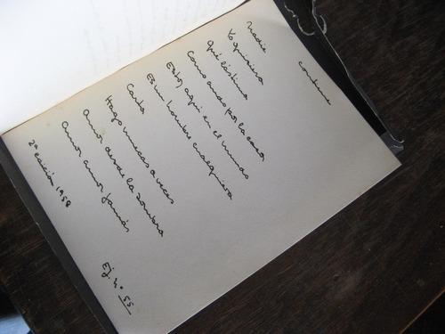 poemas de amor. idea vilariño. 1958