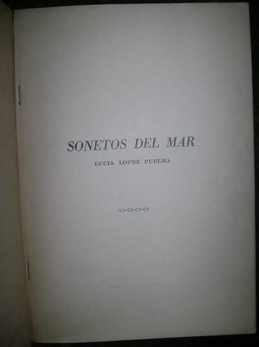 poemas lucia lopez puelma sonetos del mar santiago chile