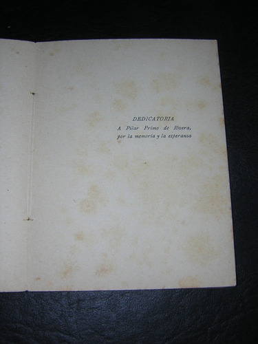poesía en armas - dionisio ridruejo ; jerarquía , 1940