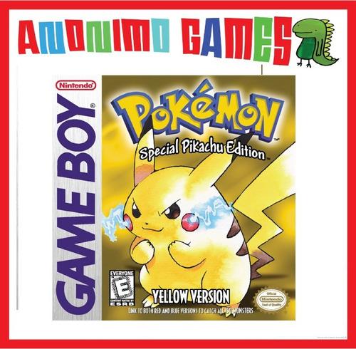 pokemon amarillo yellow  código original nintendo 3ds