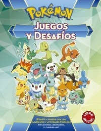 pokémon. juegos y desafíos (libro)