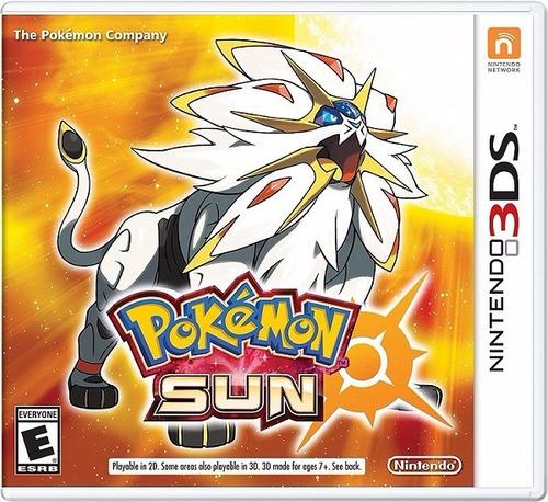 pokémon sol (sun) digital (código) / 3ds ( eshop: usa )
