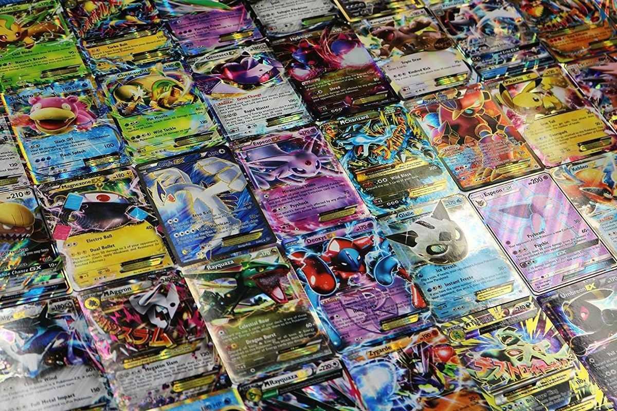 tcg 5 tarjetas card ex gx mega ex lot u s