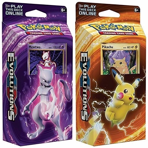 pokemon tcg cartas deck evolutions - original c/u - xuruguay