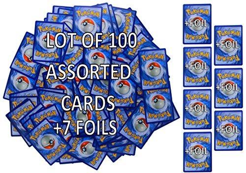 pokemon tcg: tarjetas aleatorias de cada serie, 100 tarjetas