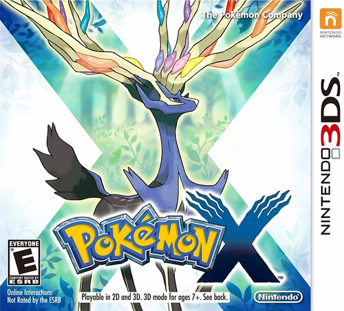 pokemon x digital (código) / 3ds