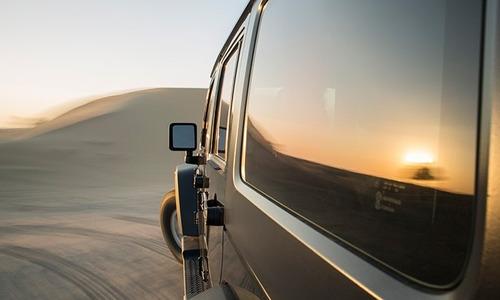 polarizado y lamina  para auto instalado