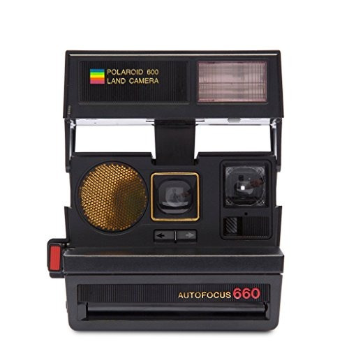 polaroid originals 4711 sun 660 autofocus camera black