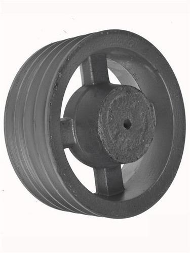poleas de aluminio 50mm 1 canal mademil