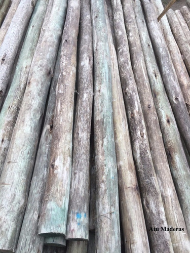 polines tratados cca postes en 2,2m atu maderas