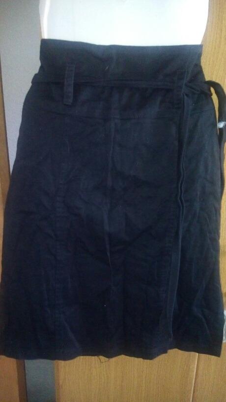 8def78cdd pollera falda entallada dama talle s gabardina licra negra. Cargando zoom.