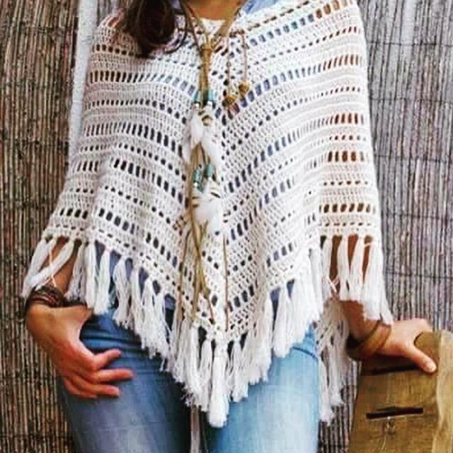 Poncho En Crochet 160000 En Mercado Libre