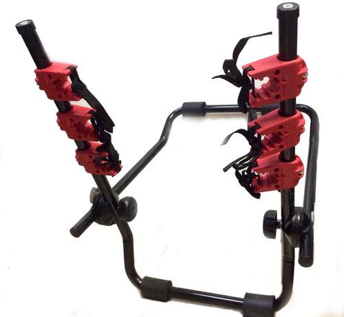 porta bicicletas soporte p/3 bicicletas autos portabicicleta