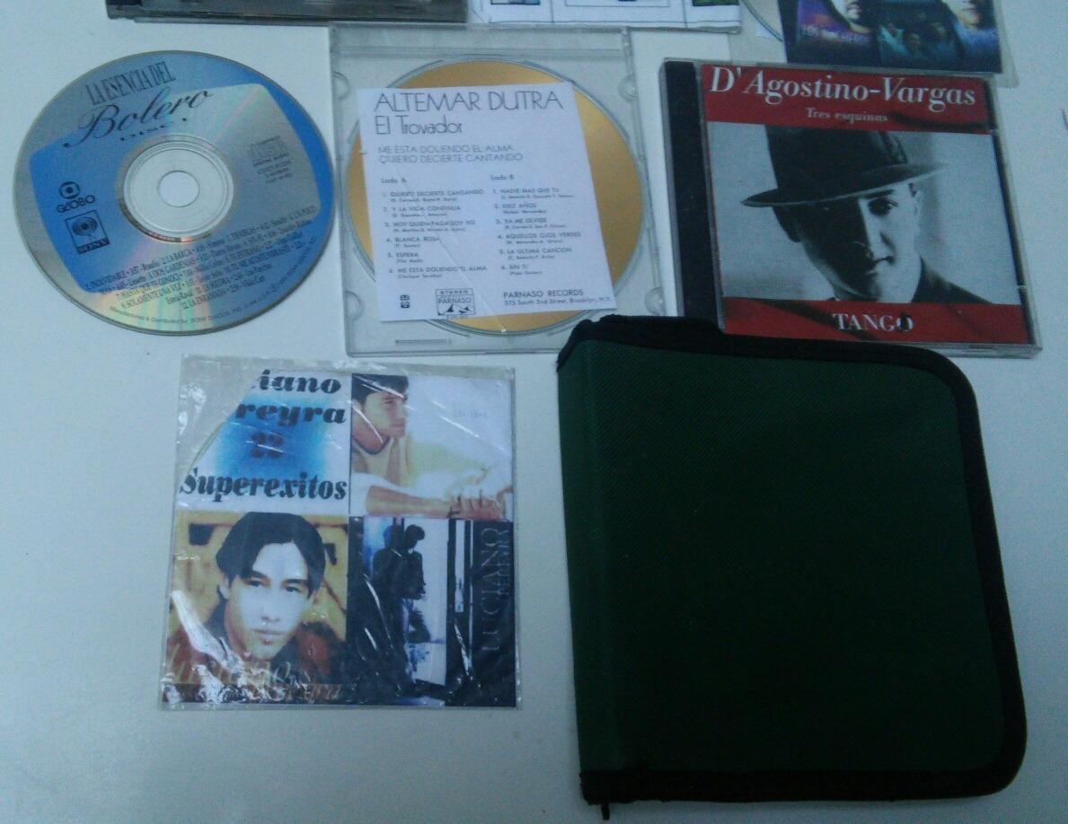 Porta cd dvd.. con 7 cd de regalo $ 150 00 en mercado libre