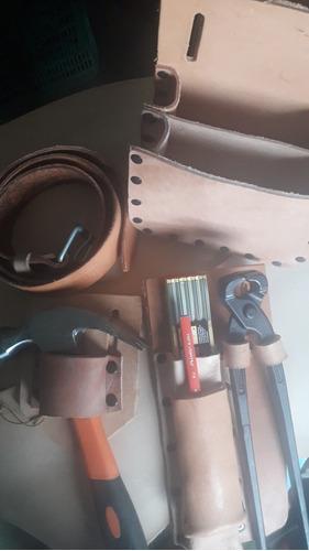 porta herramientas cuero