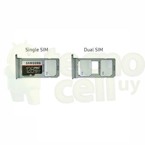 porta sim samsung s8 plus soporte sim y sd ® tecnocell uy