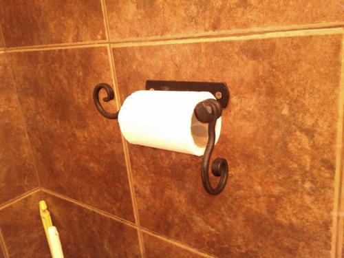portarrollo para papel higiénico - baño