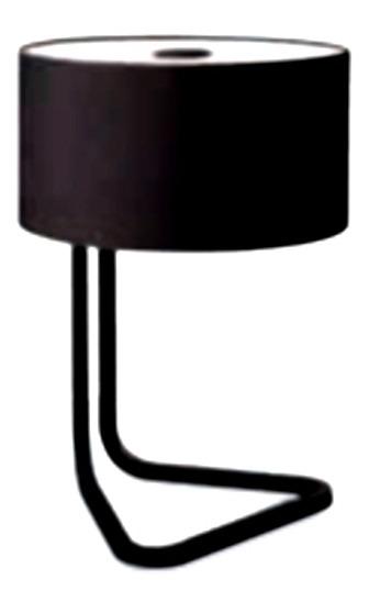 L/ámpara de mesa port/átil Philips Negro