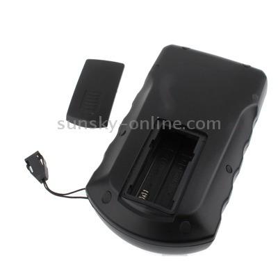 portatil matriz punto sonar buscador pescado negro
