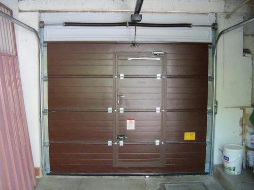 porton seccional para garage