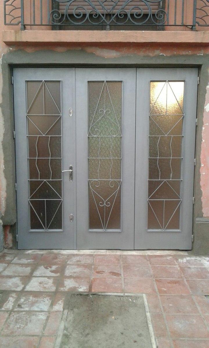 Portones rejas puertas herreria aluminio mamparas y ventanas 110 00 en mercado libre - Puertas herreria ...