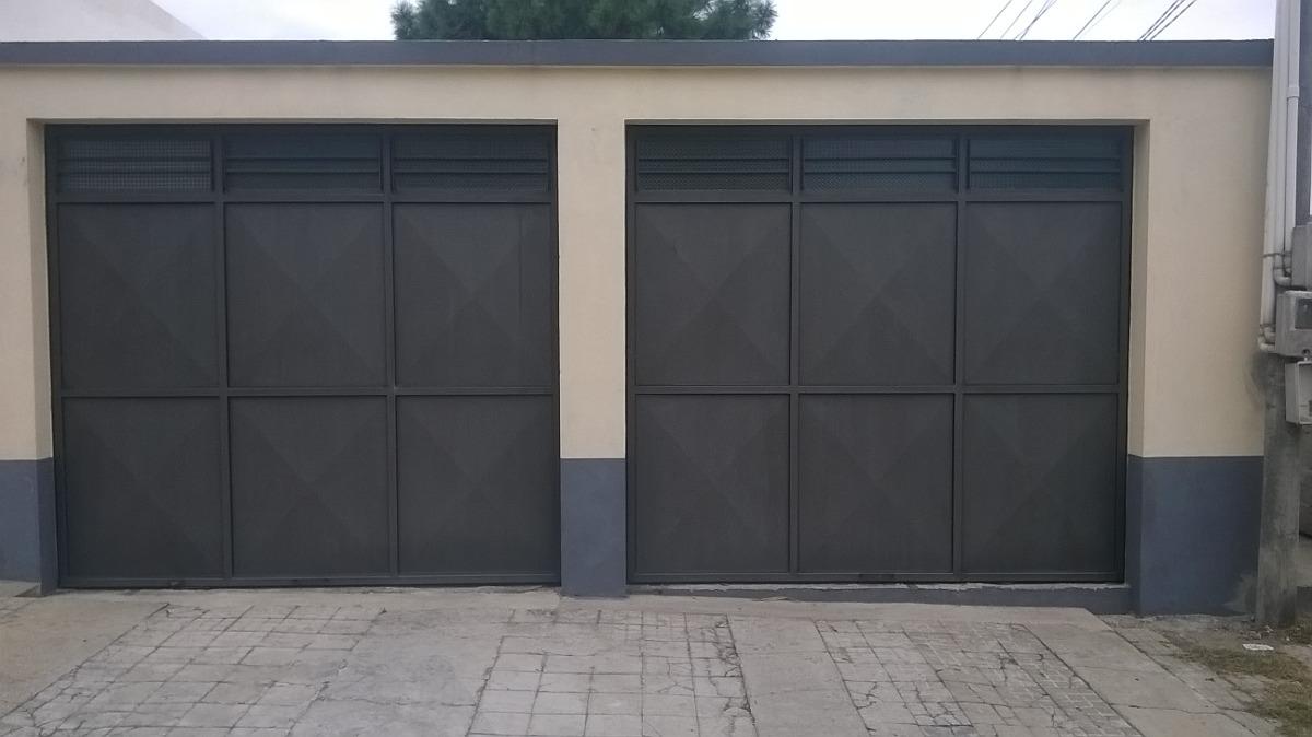 Portones Rejas Puertas Herreria Aluminio Mamparas Y