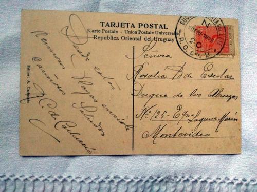 postal antigua de punta del este n 755