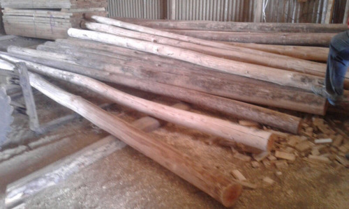 poste curado 4mt 12a15 madera tratada tejido pared piso