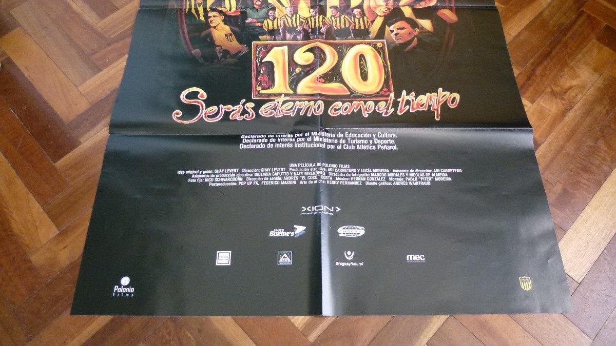 Poster De Peñarol De Película 120 Años - Gran Tamaño - $ 199,00 en ...