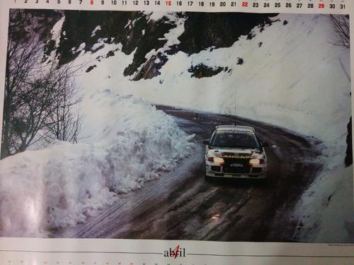 poster gustavo trelles - carrera de monte carlo 1997 liquido