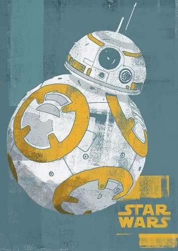 poster star wars bb-8 droid 50 x 70 cm