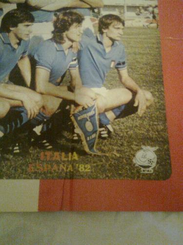 posters mundocolor sports-selecciones de francia y italia 82
