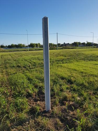 postes de hormigon para alambrados