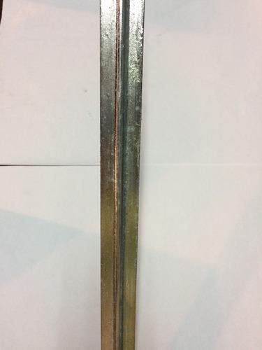 postes para tejido de 1 mt (mide 1.45) herracor