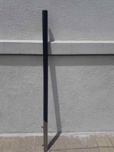 postes y pilares para barrera de alarma infrarroja exterior