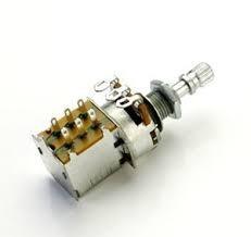 potenciometro push pull instalado