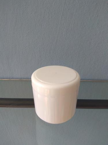 potes en plástico, ideal para cosmética desde 100gs.