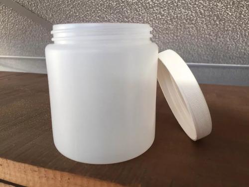 potes plástico tapa rosca x 250 ml