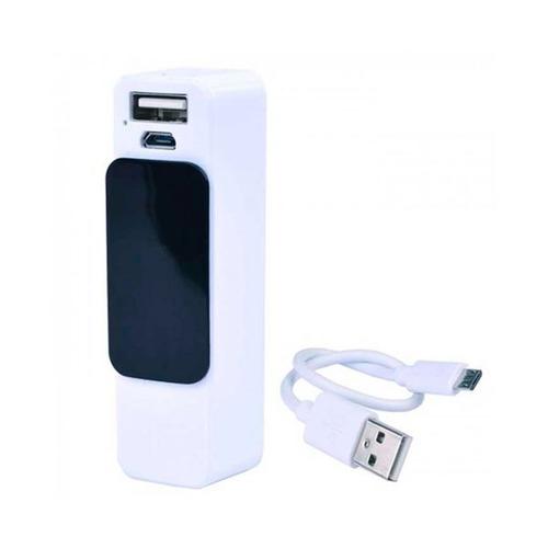 power bank superex 2200mah c/usb/micro usb (negro/blanco)