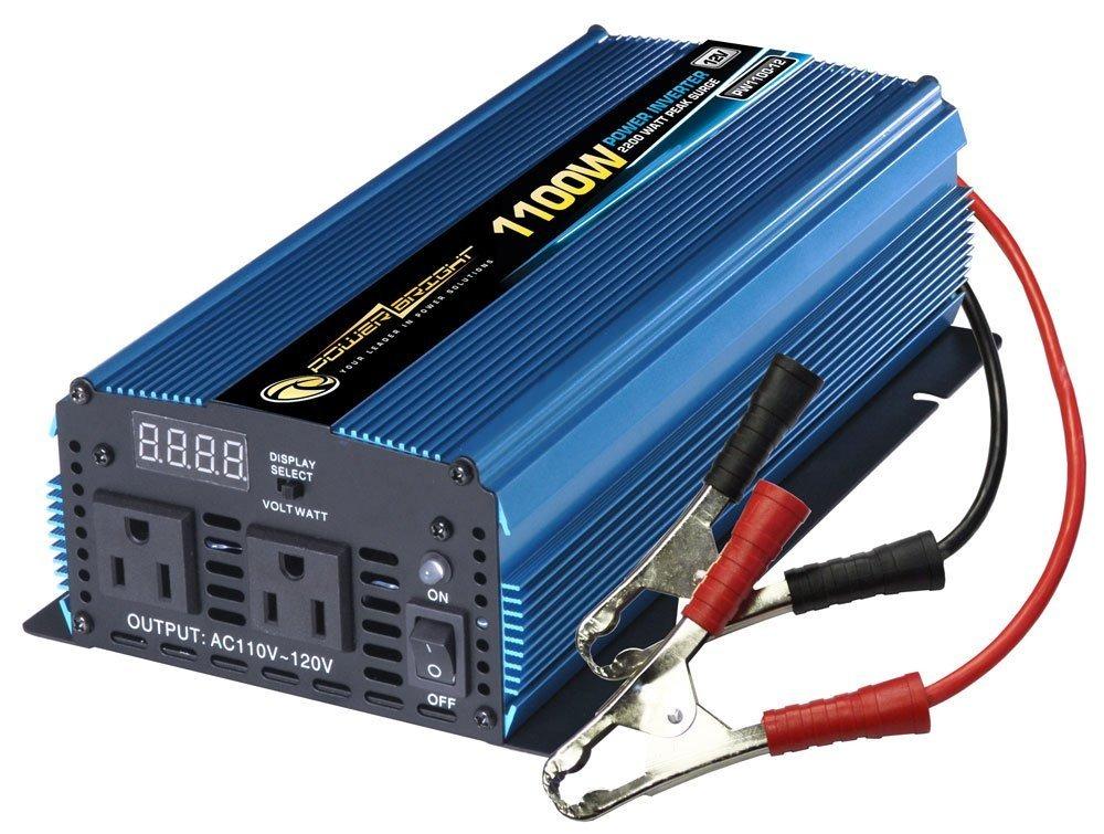 Power Bright Pw1100 12 Power Inverter 1100 Watt 12 Volt Dc