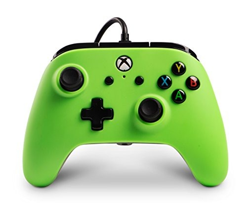 Powera Enhanced Wired Controller For Xbox One Green Video