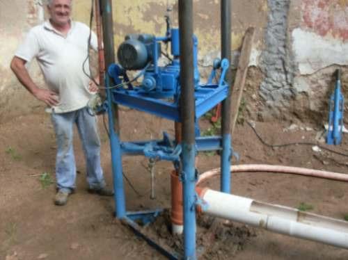 pozos de agua, riego computarizado y manual