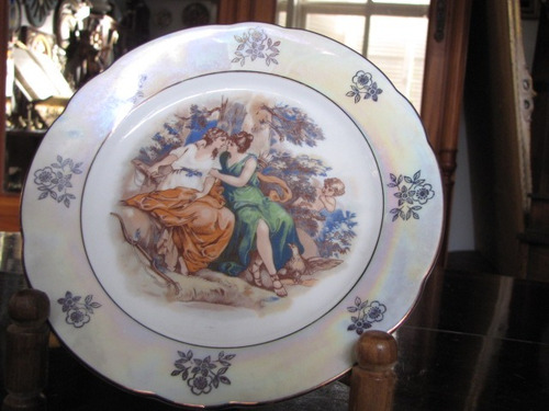 prato decorativo em porcelana kahla