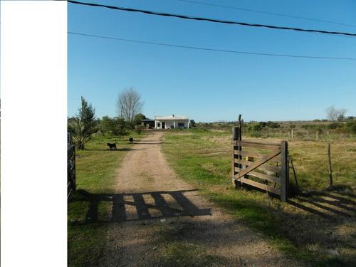 preciosa casa de campo, a metros de ruta 11