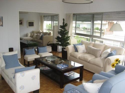 precioso apartamento, 2 dormitorios, vista al mar, pocitos!!