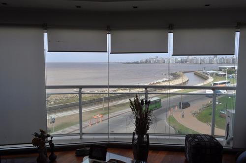 precioso apartamento, 3 dorm, vista al mar, pocitos!!