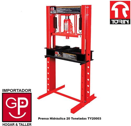 prensa hidráulica 20 toneladas torin ty20003