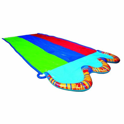 primavera y verano juguetes banzai 16ft-long triple race