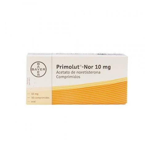 primolut nor 10 mg  30